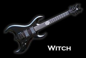 Monson Witch Guitar