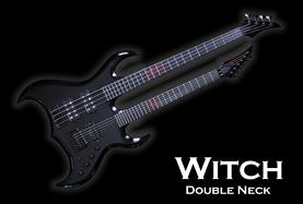 Monson Witch Double Neck Guitar