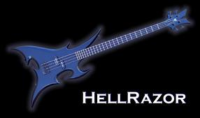 Monson HellRazor Bass Guitar