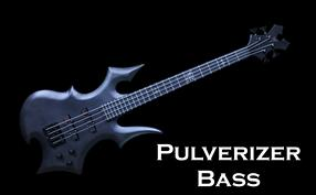 Monson Pulverizer Bass Guitar