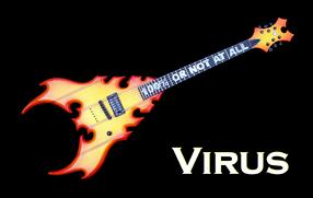 Monson Virus Guitar