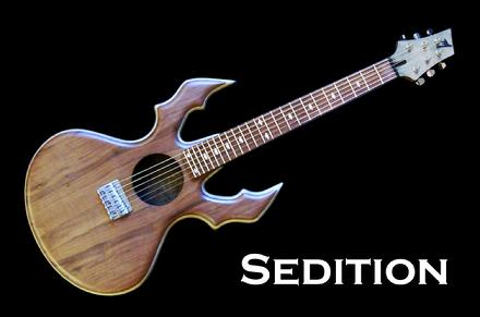 Monson Sedition Guitar