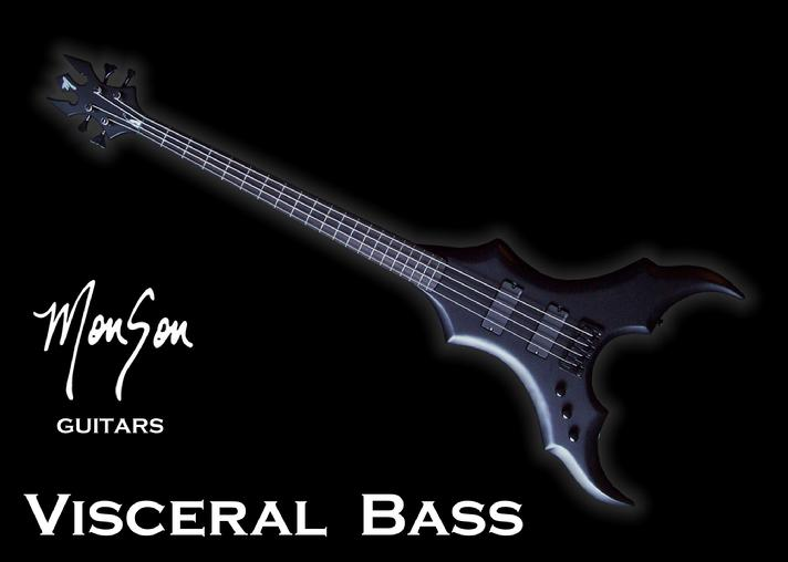 Monson Visceral Bass Guitar
