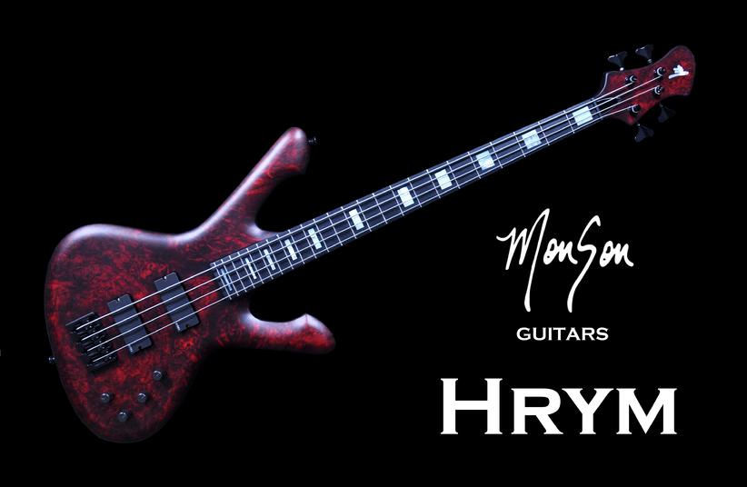 Monson Hrym Bass Guitar