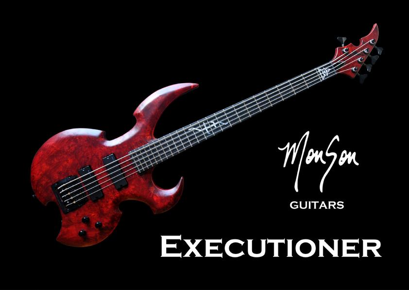Monson Executioner Bass Guitar