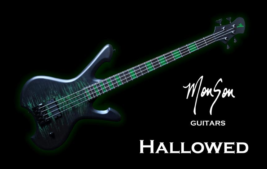Monson Hallowed Bass Guitar
